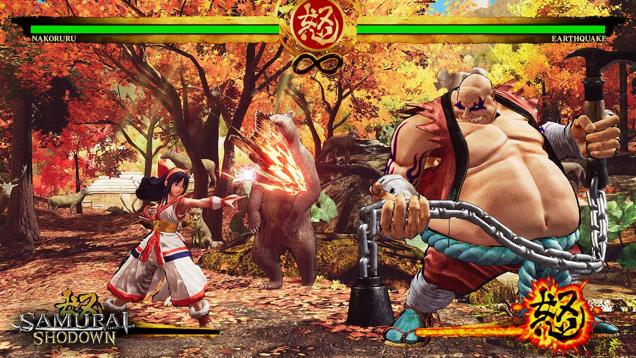 Nakoruru Hawk Special Move Attack