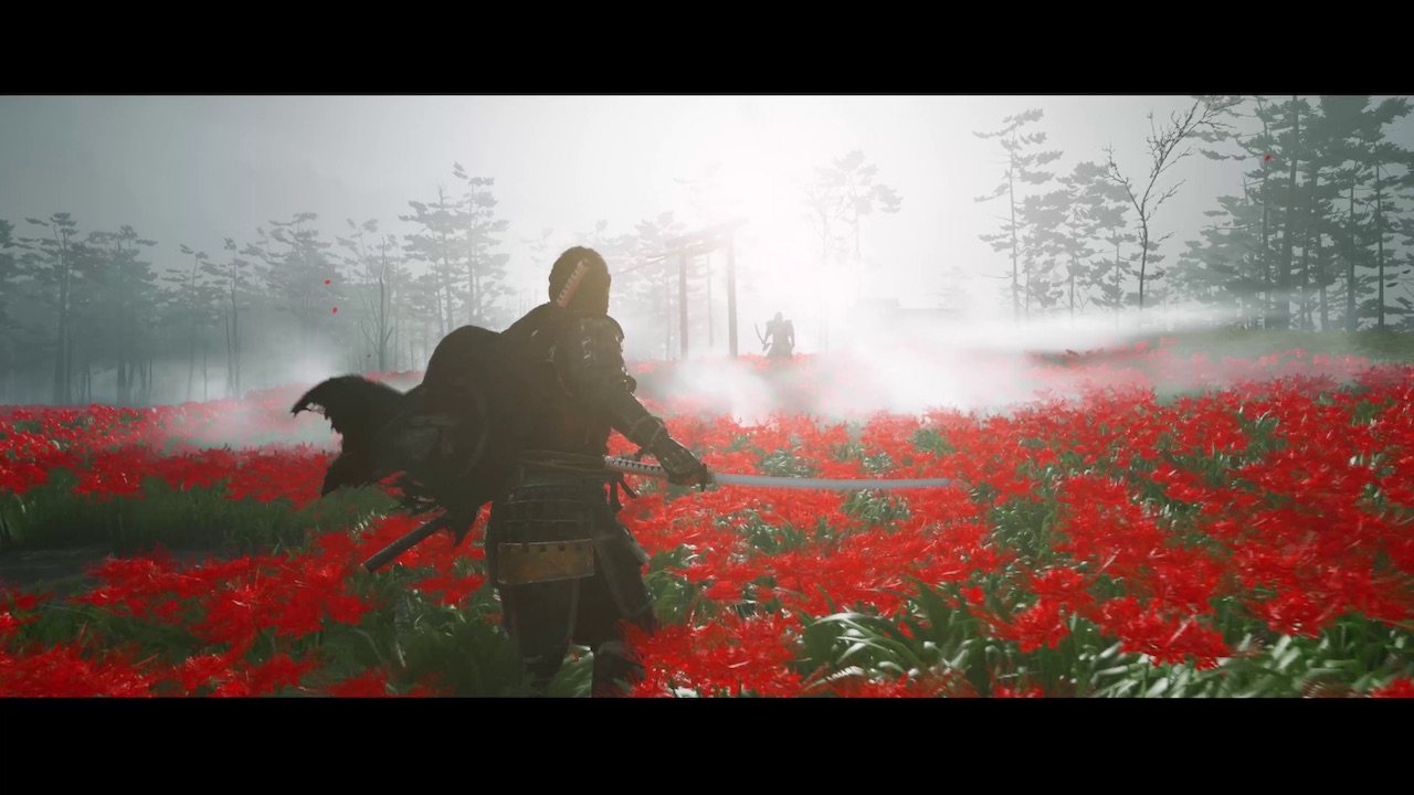 Duel Roses Ghost of Tsushima