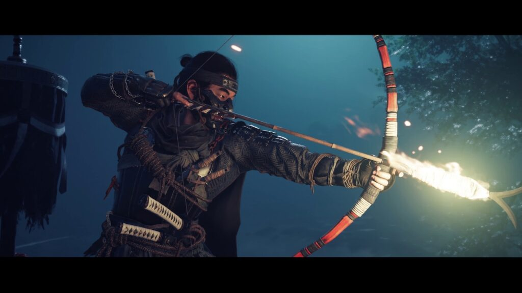 Ghost of Tsushima Fire Arrow