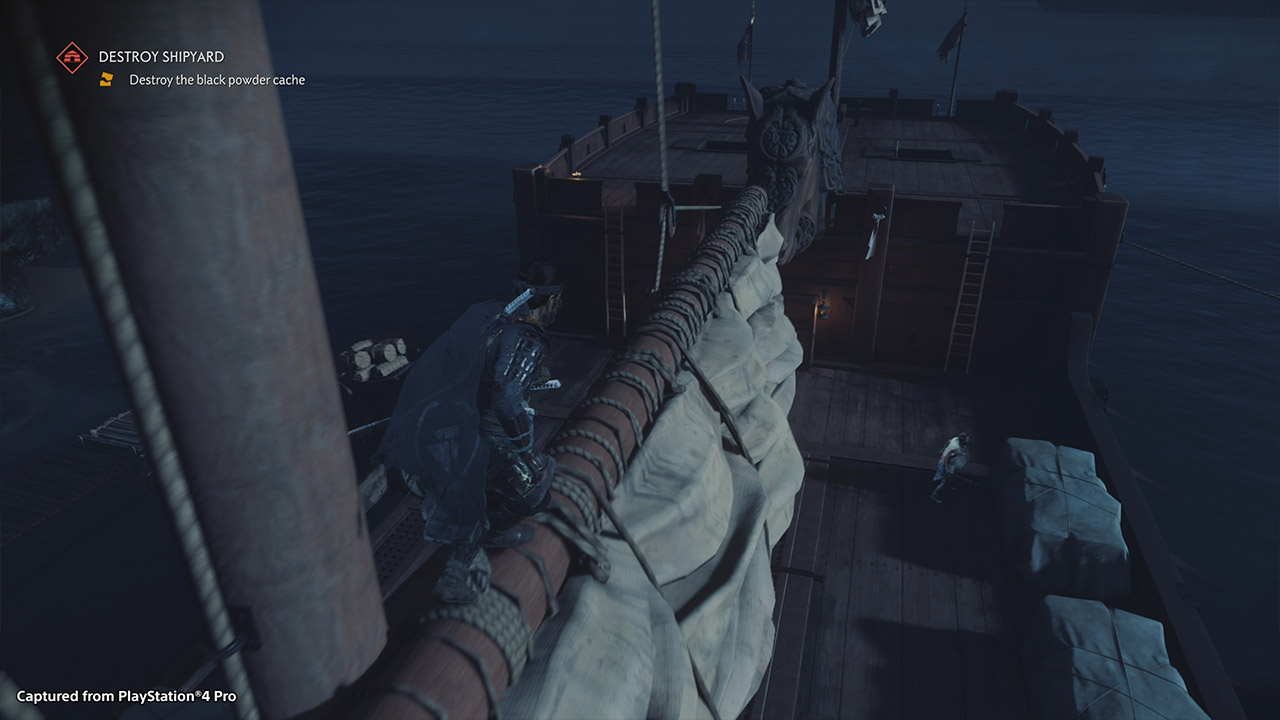 Ghost of Tsushima Ship
